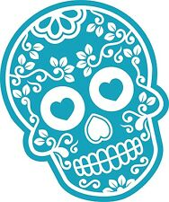 Blu Messicano Day Of The Dead Sugar Skull & Diamond Motivo