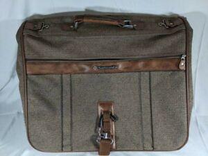 VTG 1987 Samsonite Silhouette 4 Rose Tweed Softside Luggage Carry-On Travel Bag