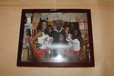 Hooters Girls & Chris Rock Photo 8 x 10 with Frame