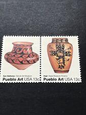 Scott#1707-08 Pair 13c Pueblo Art - Ildefonso MNH(et)