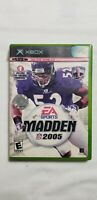 XBOX NFL EA-Sports 2005 Madden Football Game Disc