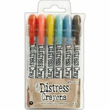 Distress Crayon Set - Set #7 - Tim Holtz - Ranger