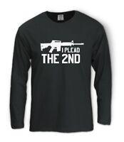 the 2nd Amendment Long Sleeve T-Shirt Gun Pro Plead Usa Ar15 Bear Right Arms
