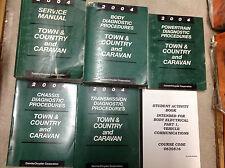 2004 Dodge Caravan & Chrysler Town & Country Service Shop Repair Manual SET OEM