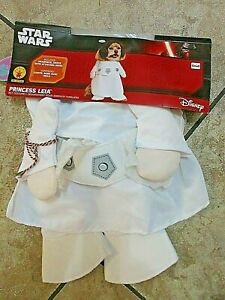 Dog Outfit/Costume Star Wars Princess Leia Sz S NWOT