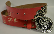Smet Belt Handmade Genuine Leather Style No Number SM3007 Size: Small