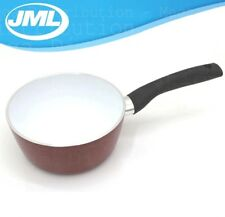 JML Ceracraft Super Non-Stick Ceramic Sauce Pan w/ Aluminium + Steel Base [Red]