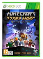 MINECRAFT STORY MODE Xbox 360 Mint Condition 1st Class Super Fast Delivery