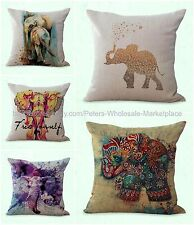 set of 5 cushion covers lucky Indian elephant patio furniture cushion covers