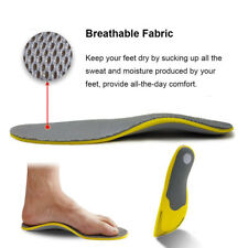 Thick Orthotic Insoles for plantar fasciitis Flat Feet arch Support Shoe Inserts