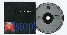 Sam Brown CD-Maxi STOP! © 1988-a&m - # 390 317-2 West Germany-eu-4 - TRACK-CD