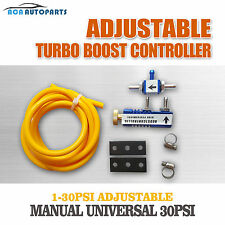 Adjustable Blue Turbo Manual Boost Controller Incabin w/ Fitting Kit Holden Audi