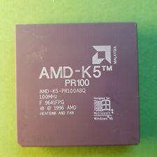 AMD-K5 PR100 ABQ - 100Mhz Ceramic Processor