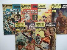 Classics Illustrated Lot of 5 Comics VG/FN