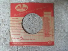 sleeve only MERCURY RED FOR DANCING   45 record company sleeve only    45