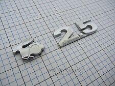 VW Rabbit 2.5 trunk emblem badge logo OEM Factory Genuine Stock