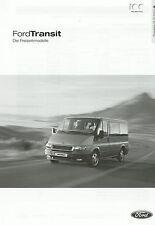 Lista de precios Ford Transit recreativas modelos 15.10.03 2003 Tourneo EUROLINE Pepita