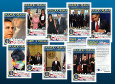 BARACK OBAMA 50-CARD First 100 Days in Office SEALED COMPLETE Premium CARD SET