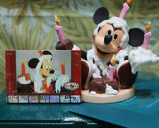 WDCC Happy Birthday Mickey - Disney Mickey's Birthday Party NIB & bonus card