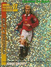 303 JORDI CRUYFF MANCHESTER UNITED METAL STICKER PREMIER LEAGUE 1997 MERLIN