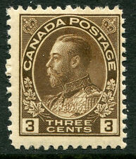 CANADA  # 108 Fine Light Hinged Issue - KING GEORGE V - S6216