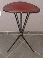 Table formica gueridon selette 60 70 design scandinave vintage MODERNISTE