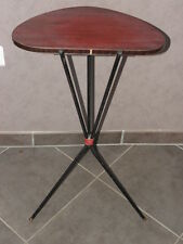 Table formica gueridon selette 60 70 design scandinave vintage MODERNISTE