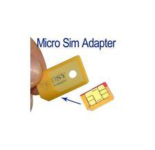 ADATTATORE PER SIM CARD Micro Sim Microsim Mini cellulare scheda ipad iphone