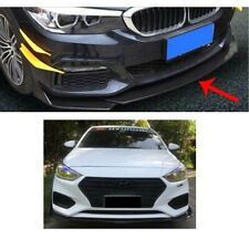 Carbon Paint Front Spoiler Front Splitter for Toyota Corolla Flaps Diffuser Lip