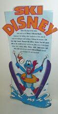 Walt Disney World Blizzard Beach Ski Table Tent Promo Die-Cut Summit Plummet