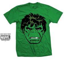 Magliette da uomo a manica corta verde Marvel