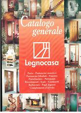 LEGNOCASA CATALOGO GENERALE 1996 PORTE BLINDATE PAVIMENTI SCALE CAMINETTI