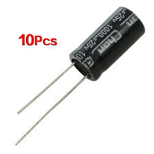 10 x 25V 1000UF 105C Radial Electrolytic Capacitor 10x20mm N3