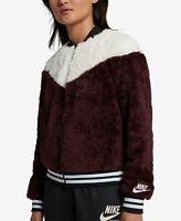 Nike Women's Sportswear Fleece Bomber Jacket Size L
