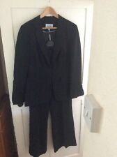 Ladies Black Suit By Next Size 16