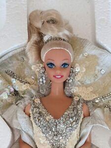 1991 Bob Mackie Platinum Barbie, 3rd in Series MIB