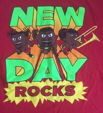 New Day Wwe T Shirt Red Large New Day Rocks