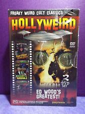 HOLLYWEIRD: ED WOOD's Greatest 3 DVD Set