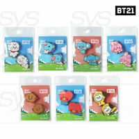BTS BT21 Official Authentic Goods Character Badge Baby Ver + Tracking Number