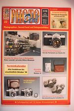 PHOTO DEAL Photodeal Heft 22 3/1998 vergriffen Yashica M42, Boltavit, Hasselblad