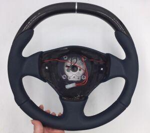 NOS Maserati OEM Carbon Steering Wheel 214109 Maserati 214109