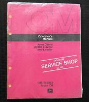 1976 JOHN DEERE 302 JD302 TRACTOR AND LOADER OPERATORS MANUAL MINT SEALED