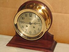 Chelsea Antique Ships Bell Clock~ 6 In Dial~1919~102 Yrs Old~Restored