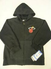 NBA Miami Heat Toddler Black Lined Hoodie Sweat shirt Jacket Size S M L