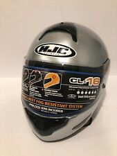 HJC motorcycle helmet CL-16 Sz. XXXL Silver  BRAND NEW with Factory Bag.