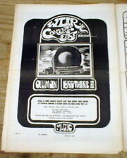 Orig 1973 counterculture newspaper The Express Hicksville Ny Allman Brothers Ad
