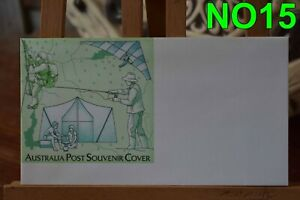 FIRST DAY COVERS-= NO15 AUSTRALIA POST SOUVENIR COVER