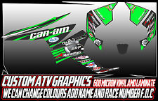 CAN AM Renegade 570/800/1000 - ALL YEARS GRAPHICS DECALS ATV QUAD