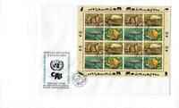 1994 United Nations Geneva -# 246-249 Full Sheet! Quality First Day Cover (CO92)