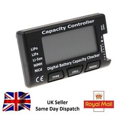 Battery Meter Checker CellMeter-7 Digital Capacity LiPo LiFe Li-ion NiMH Nicd